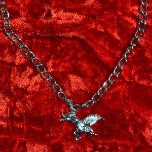 Handmade unicorn necklace 🦄
